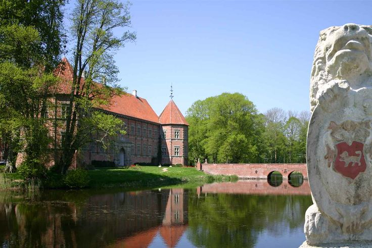 Voergaard Slot - 10 km from Sæby.  Behind the wide moat and the metre-thick walls, you will find Denmark's most beautiful renaissance castle with the scariest ghost stories and finest private art collection