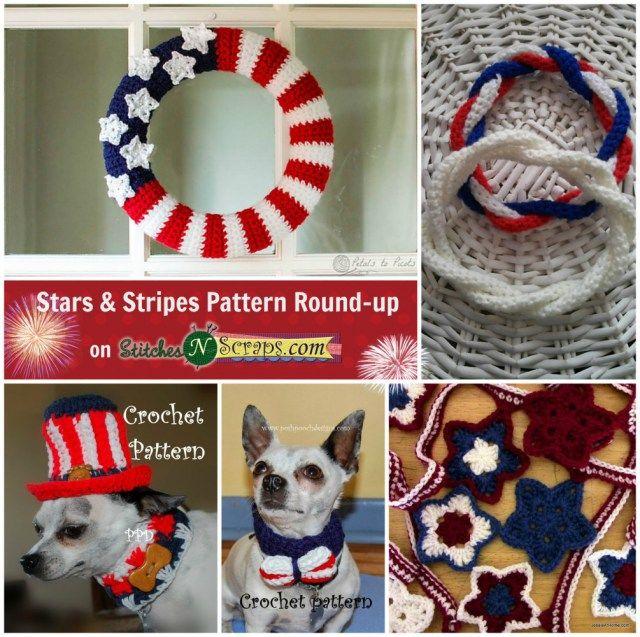 Mejores 31 imágenes de U.S. Patriotic Crochet en Pinterest ...