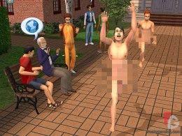 The Sims 2 University - Streaking