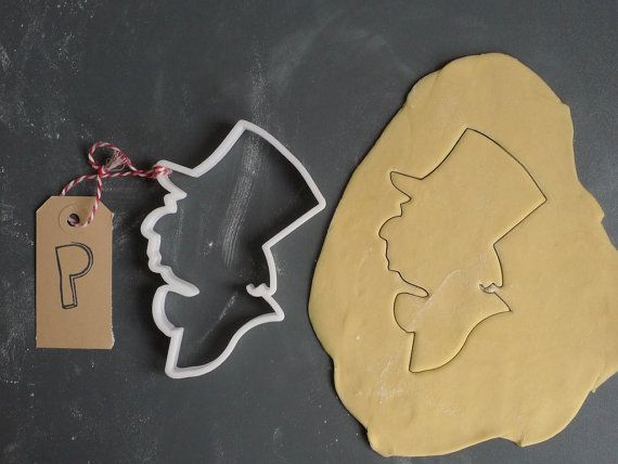 Mad Hatter Cookie Cutter. The Perfectly Shaped Treat: Literary Cookie Cutters - BOOK RIOT
