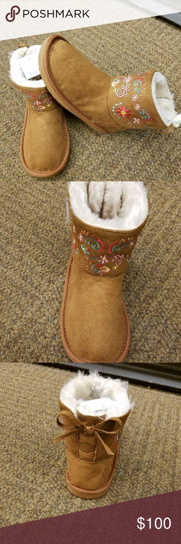 Winter boot for kids Brown winter boots for kids Elena Grunert Shoes Rain & Snow Boots