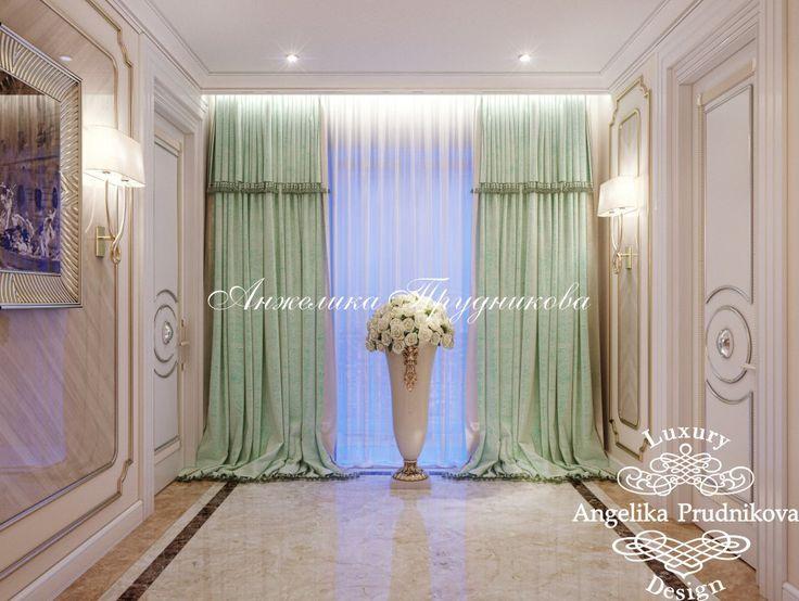 Дизайн проект интерьера квартиры в стиле Ар Деко в ЖК Кутузовская Ривьера - фото