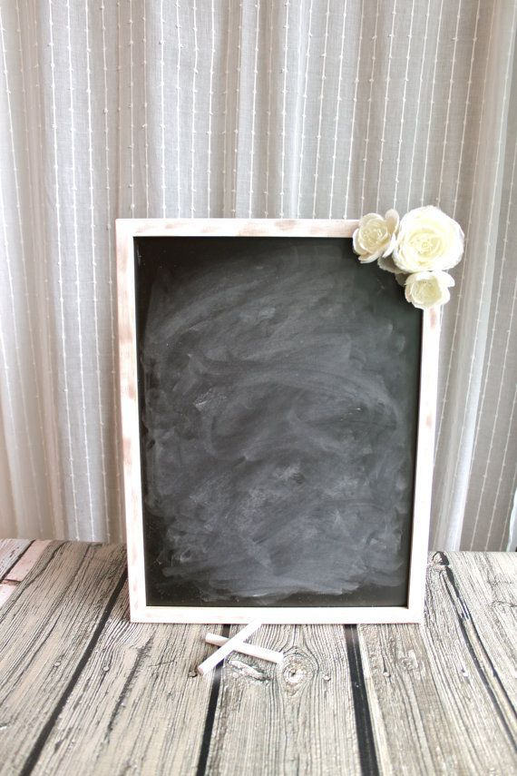 Hey, I found this really awesome Etsy listing at http://www.etsy.com/listing/152562228/chalkboard-sign-with-flowers-wedding