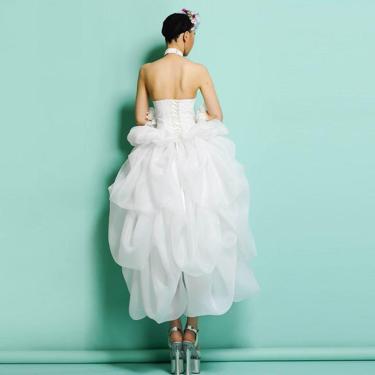 The 115 best AOLALA Wedding Dress images on Pinterest   Wedding ...
