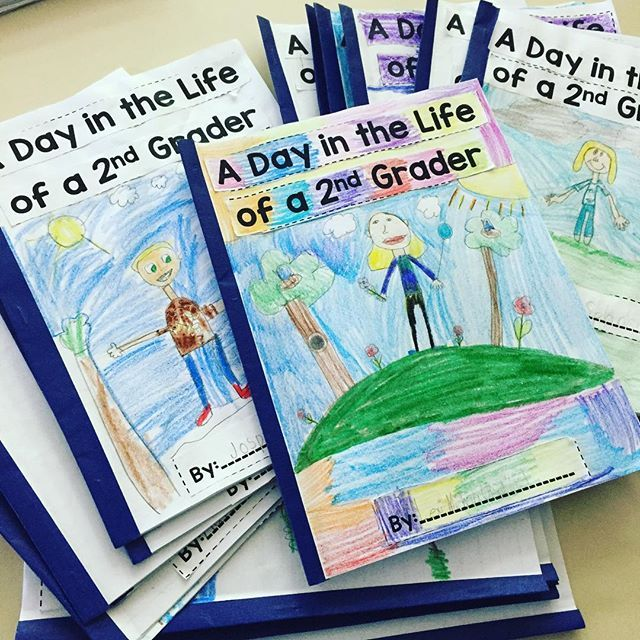 When students have a purpose to their writing, they produce amazing products!  These books can be used with any grade and the structure gives students plenty to write about!