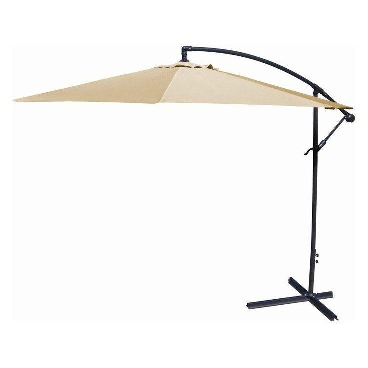 Jordan Manufacturing 10 Ft. Offset Umbrella Khaki   OFST10 KHAKI