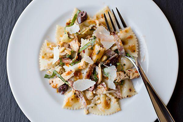 ... salads pasta my pasta salad with chicken mmm paste food pasta salads