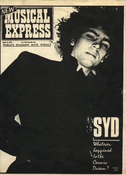 Pink Floyd - The Cracked Ballad of Syd Barrett - NME April 13 1974 Article/Story.  Click Picture to read