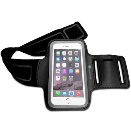 "iPhone 6 FIT Armband Case - GreatShield Stretchable Neoprene Sport Armband Case with Key Storage for Apple iPhone 6 4.7"" $8.99"