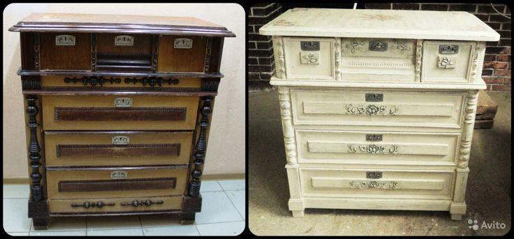 Антикварный Комод. Декорация старинной мебели купить в Самарской области на Avito — Объявления на сайте Avito