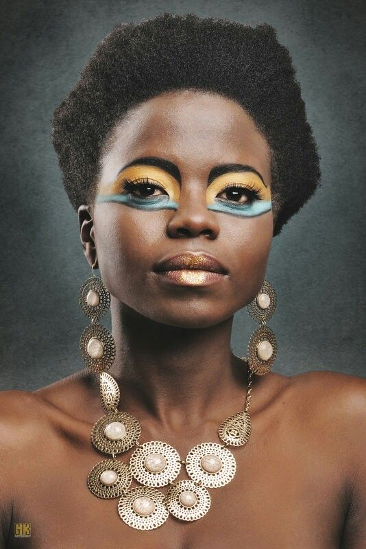 Egyptian inspired look Hair and Make up by PROface. Visit our page at www.facebook.com/zaneldavproface