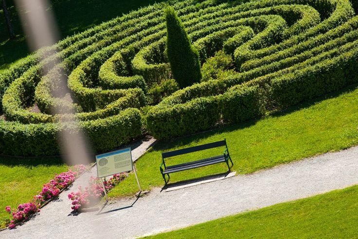 Das Labyrinth im Kurpark Bad Tatzmannsdorf.  #Badradkersburg #Kurpark #Urlaub