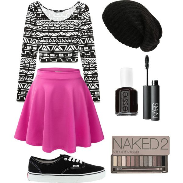 """""""Skater Girl Outfit"""" by saladtopping on Polyvore ..."""