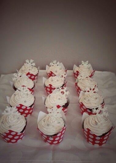 Gluten Free Chocolate Christmas Cupcakes