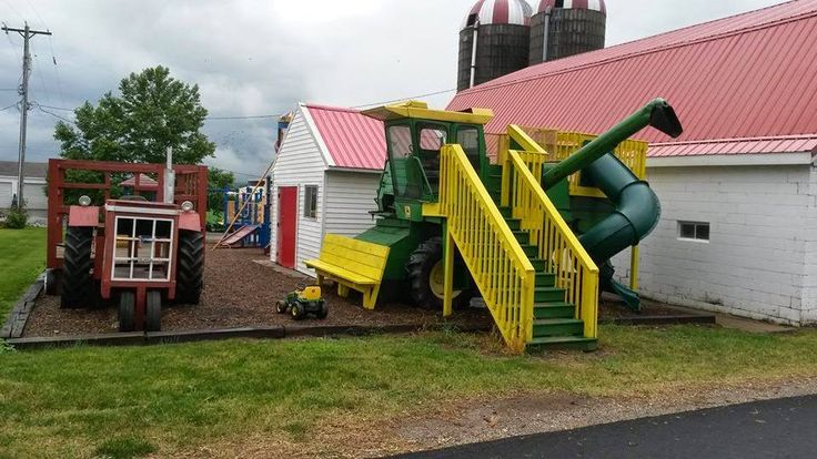 Repurposed Farm Equipment