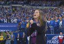 Our National Anthem by15 year old Julia Goodwin at the Texans vs. Colts game on 12/15/13.