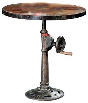 Adjustable Pub Table - contemporary - Bar Tables - YOSEMITE HOME DECOR