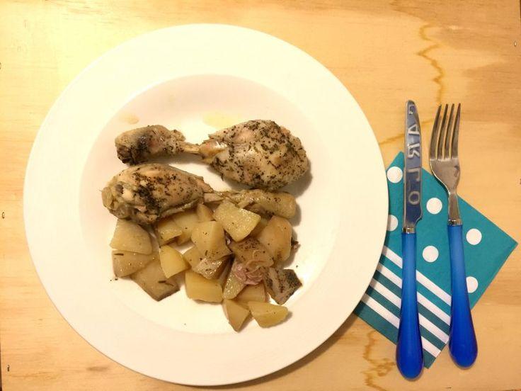 #pollo con #patate nella #slowcooker