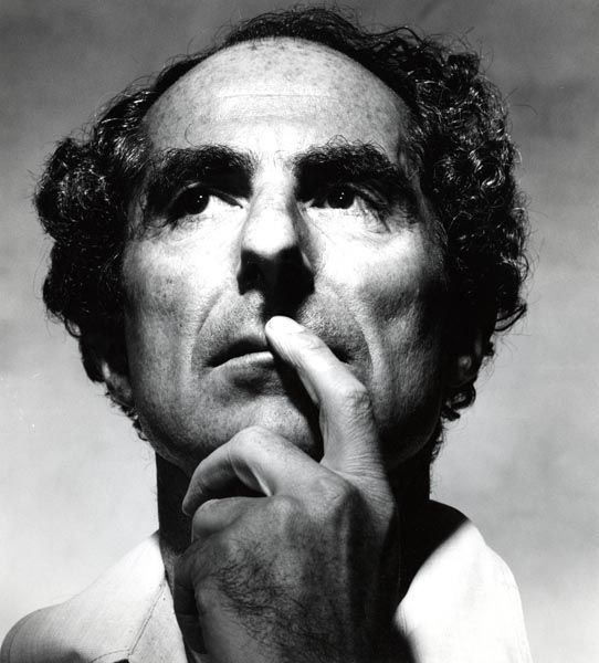 Author Philip Roth photographed by Irving Penn, 1983