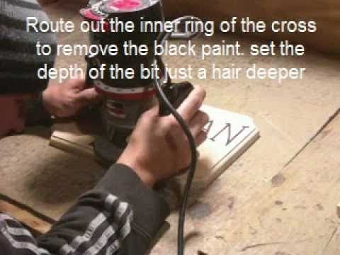 How to Carve A Wood Sign Using a Craftsman Router