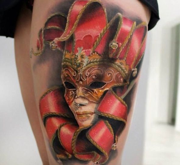 141 best images about tattoos on pinterest tattoos for for Mardi gras mask tattoo