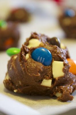 Gennaio #Vogliadi #cioccolato Biscotti al triplo cioccolato; triple chocolate cookies