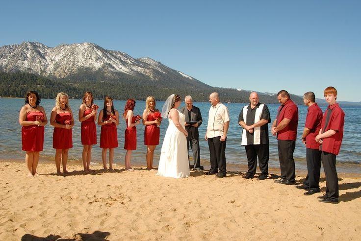 Tahoe nevada wedding