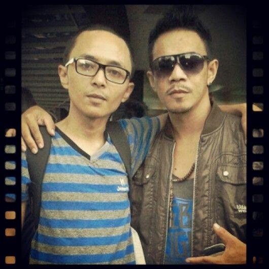 with Bobby (Best friend)