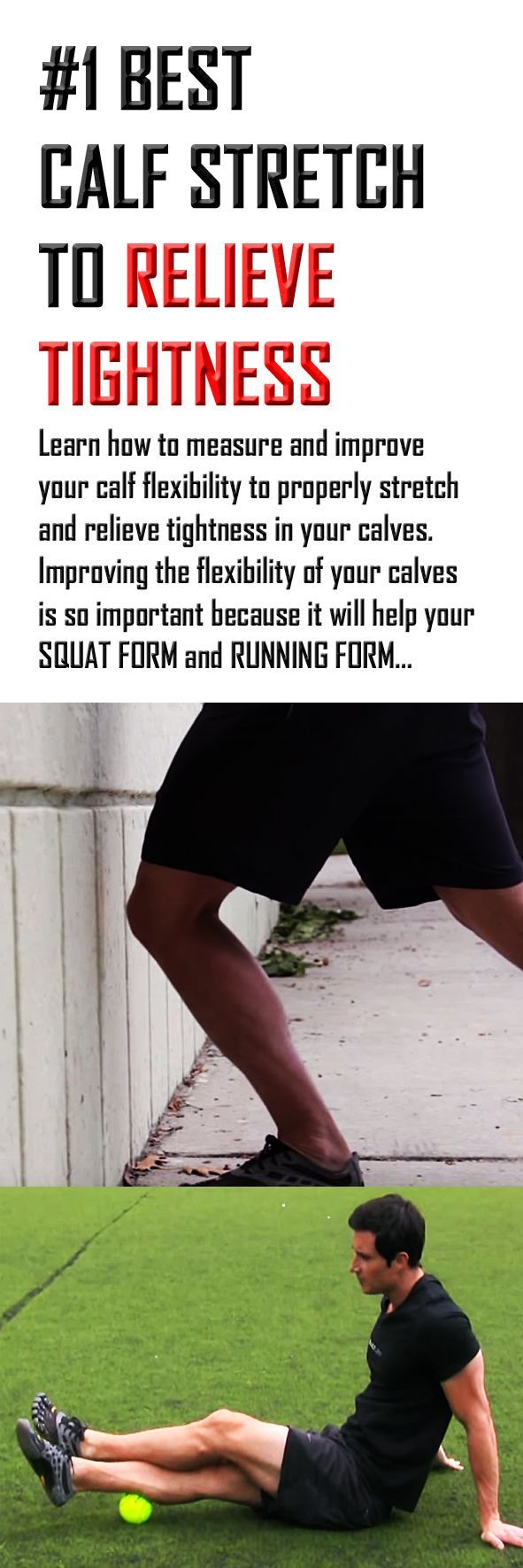 We have all felt the tightness in our #calves. #Stretching them is essential to preventing injuries. #BeFitEverywhere