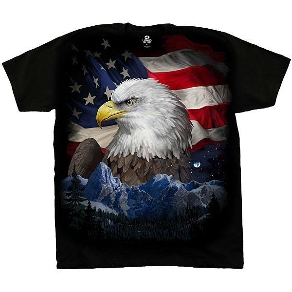 Liquid Blue Patriotic T-shirt   Freedom Flyer