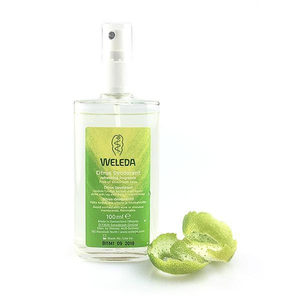 Weleda Citrus natural deodorant   Riatta Australia