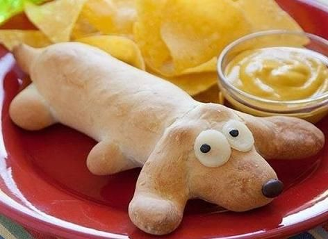 Hot Dog Inside A Dog Recipe, #fun#food