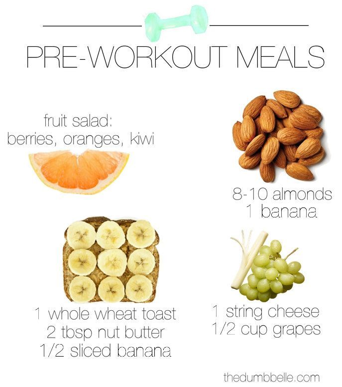 What To Eat Pre-Workout