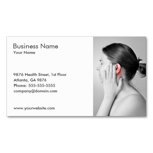 Best Audiologist Business Cards Images On   Business