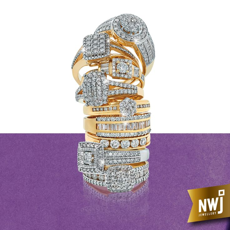 Nwj wedding rings catalogue design