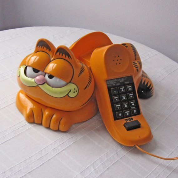 My first phone! I won this as a prize for fundraising in my elementary school.