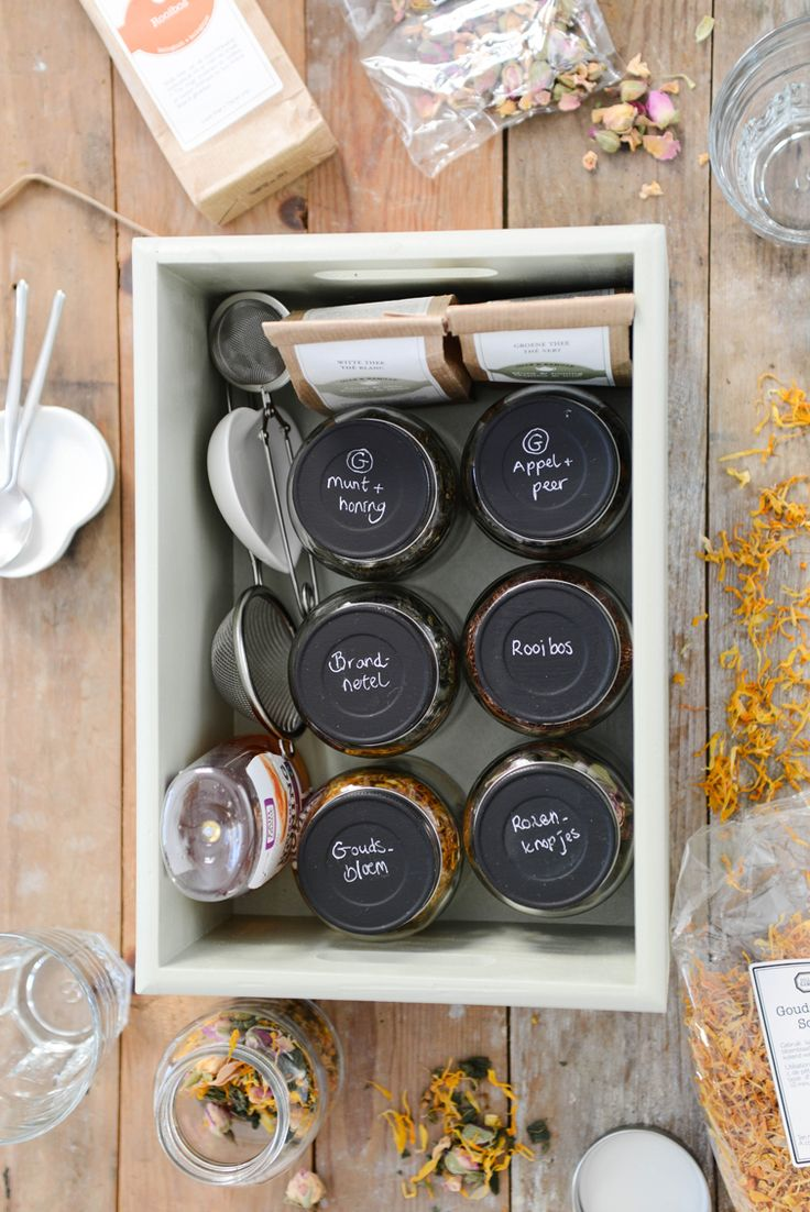 #tea #box   Yvestown blog for Dille & Kamille