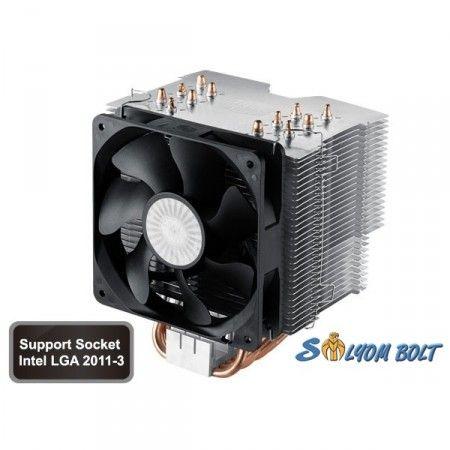 Cooler Master Hyper 612 Ver.2 139x102x160mm 800-1300RPM (intel,AMD) processzor hűtő