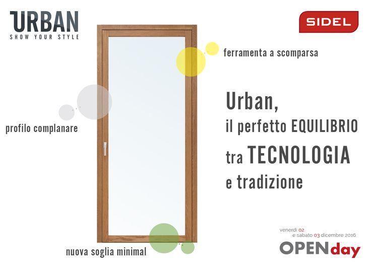 Se stai pensando a come un serramento si possa evolvere, allora stai pensando alla nuova finestra Urban  Maggiori info http://sidelsrl.it/…/urban-la-nuova-finestra-sidelsrl-mode…/ http://sidelsrl.it/infissi/sidelcampaniaday/