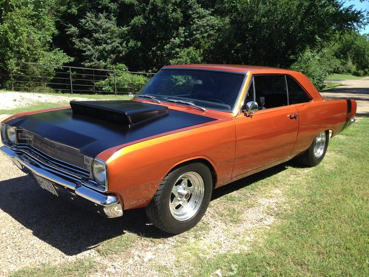 Toxin Orange '67 Dodge Dart