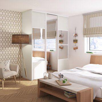 17 meilleures id es propos de portes de placard miroir - Porte coulissante entrepot du bricolage ...