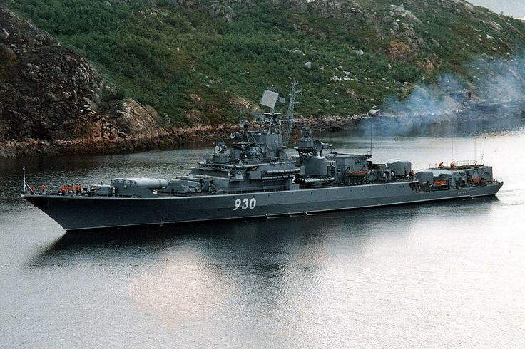 Soviet Navy Kirvak-class frigate
