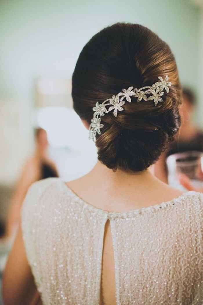 Wedding Hairstyle with Adorable Details