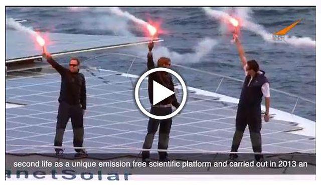 PlanetSolar Receives 2013 European Solar Prize-VIDEO - http://1sun4all.com/popular-clean-energy-news/planetsolar-receives-2013-european-solar-prize-video/