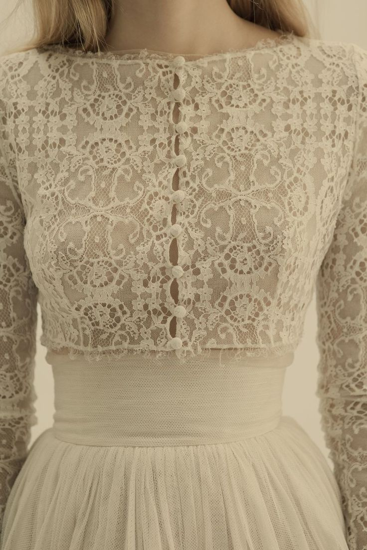 wedding dress lace detailing from Cortana Bridal (but I would like this as a regular dress for nice occasions instead of a wedding dress)