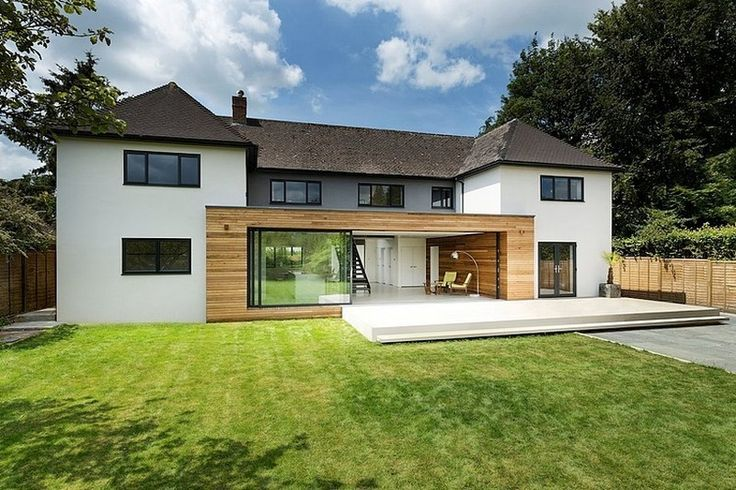 design runners house ar design studio Modern Extension Reshaping a Confusing Home Layout in Winchester, UK