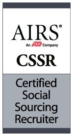 Became an AIRS Certified Social Sourcing Recruiter today!