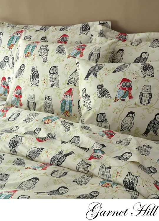 Discontinued owls :( from Garnet Hill