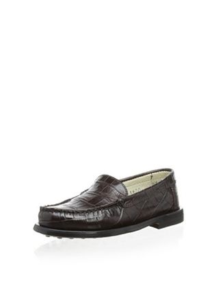65% OFF Gallucci Kid's Embossed Loafer (T. Moro)
