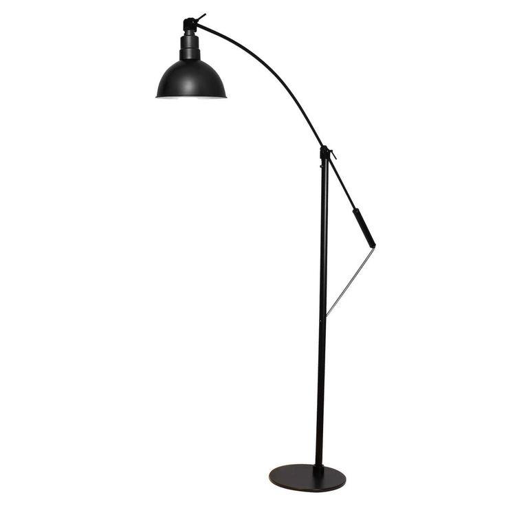 Cocoweb spot Matte 12-inch LED Industrial Floor Lamp